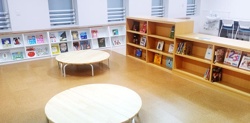 フレンズ本町 図書室兼図工室
